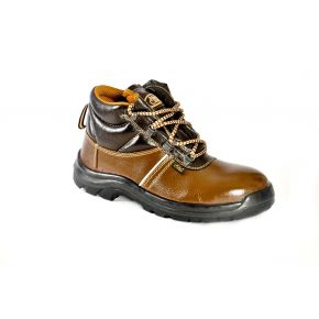 HIGH TECH MEN'S SAFETY SHOES AC-1276 BROWN