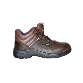 HIGH-TECH HI ANKLE SAFETY SHOES HT-804